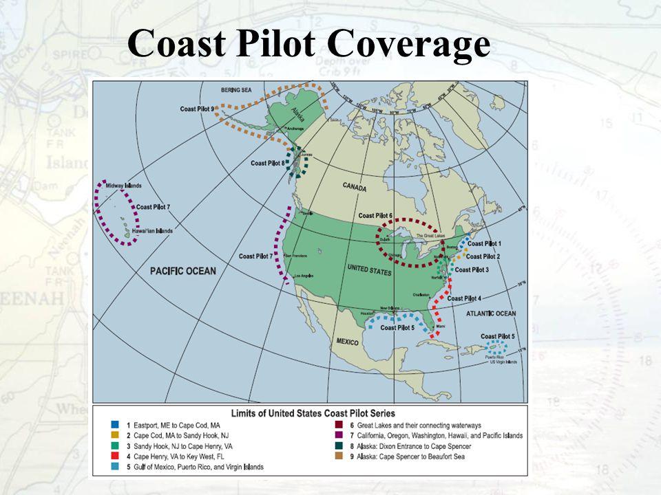 Coast Pilot Coverage