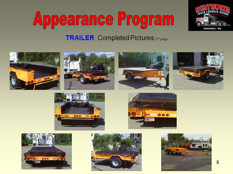 8 TRAILER Completed Pictures 2 nd page