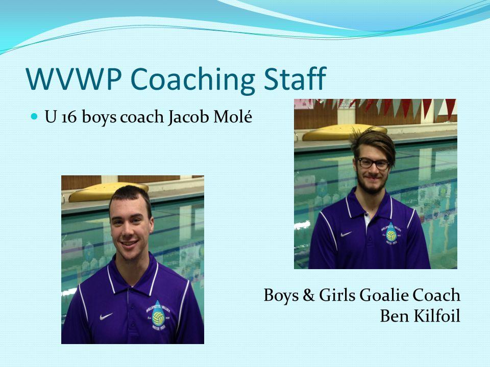 WVWP Coaching Staff U14/12 Co-ed asst. coach Aneesa Field/Jakob Sessa