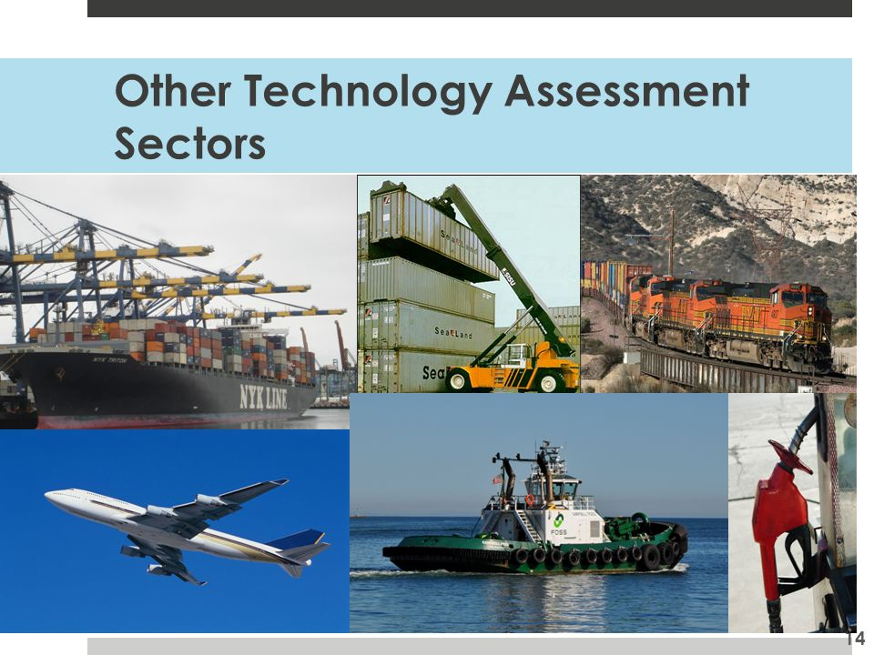 Other Technology Assessment Sectors 14