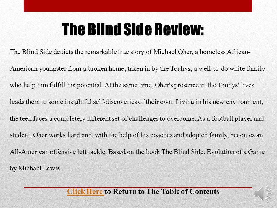 The Blind Side Movie Trailer: