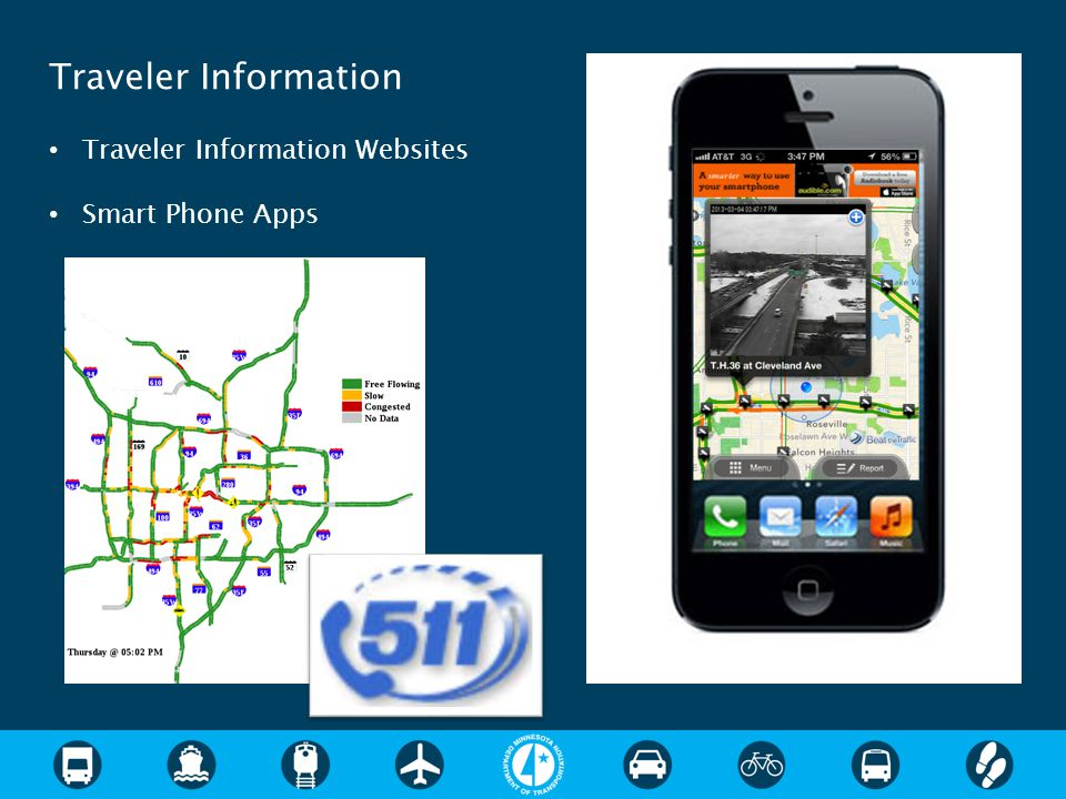 Traveler Information Traveler Information Websites Smart Phone Apps