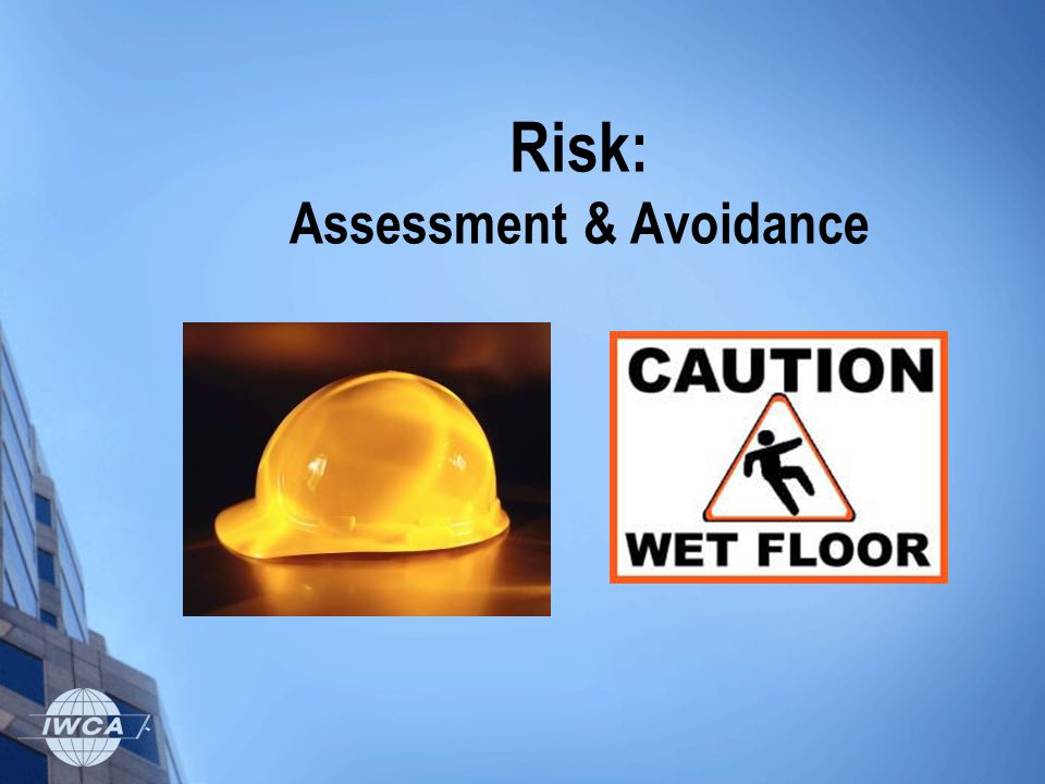 Risk: Assessment & Avoidance