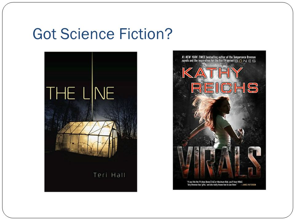Got Science Fiction?