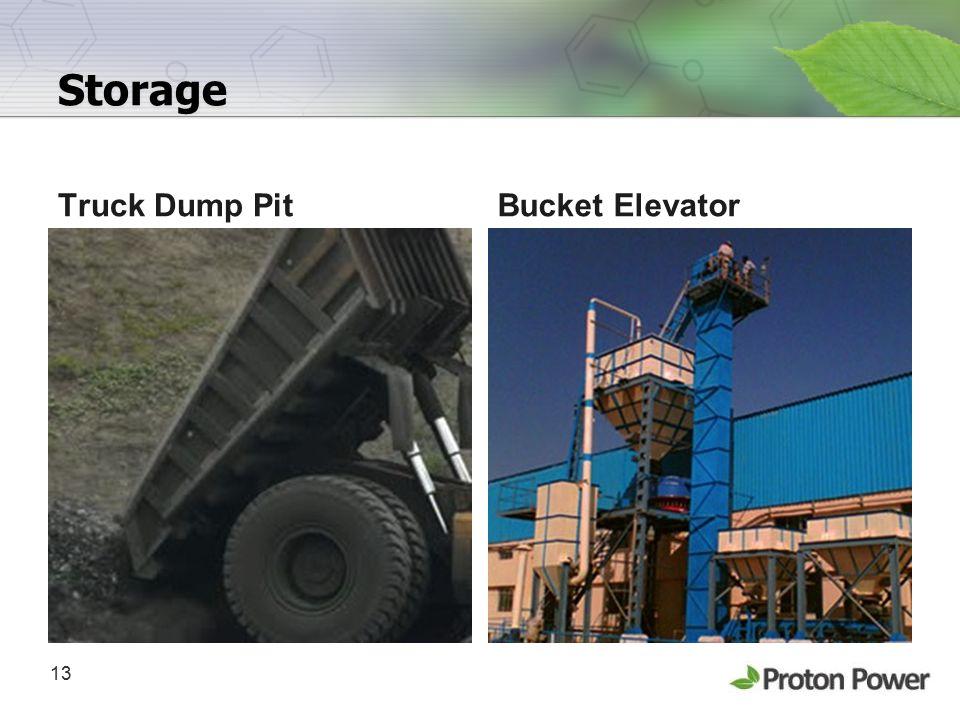 13 Storage Truck Dump PitBucket Elevator