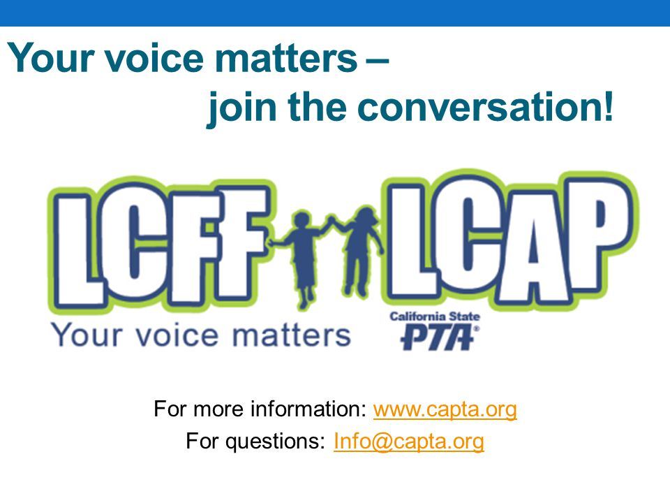 Your voice matters – join the conversation.