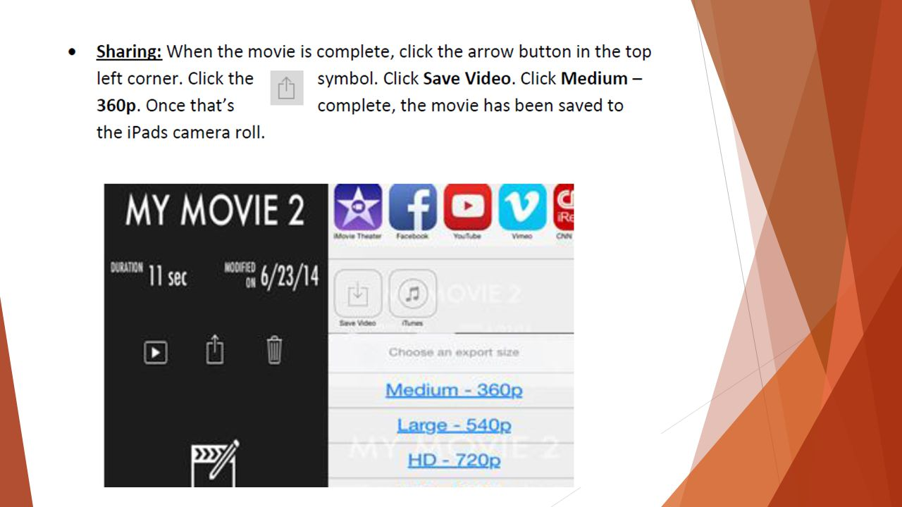 IMovie for the Common Core. Imovie is the Common Core in Action ...