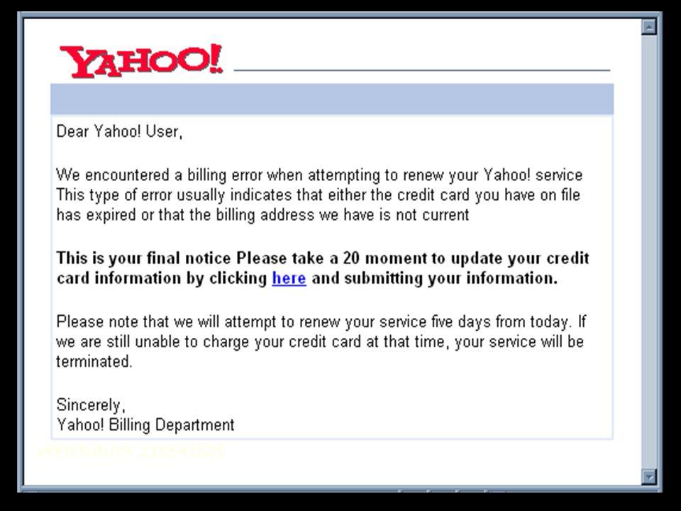 Fake Yahoo