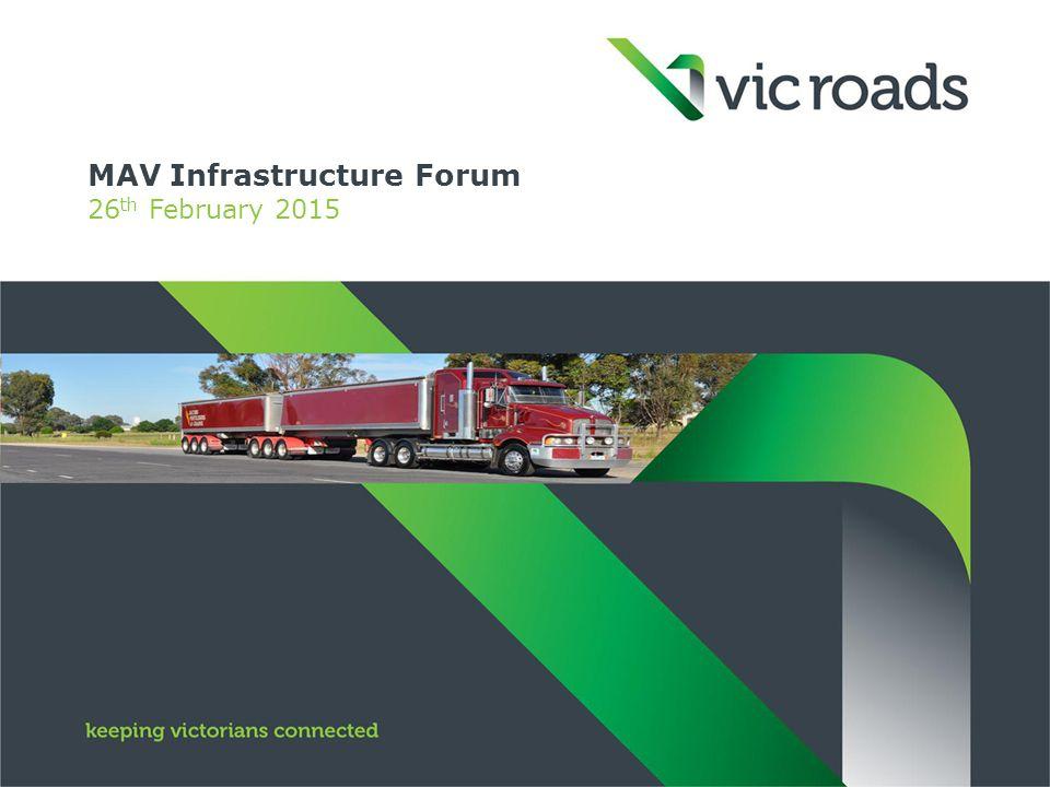 MAV Infrastructure Forum 26 th February 2015