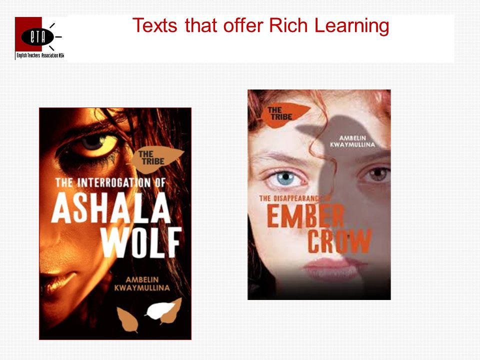 Texts that offer Rich Learning