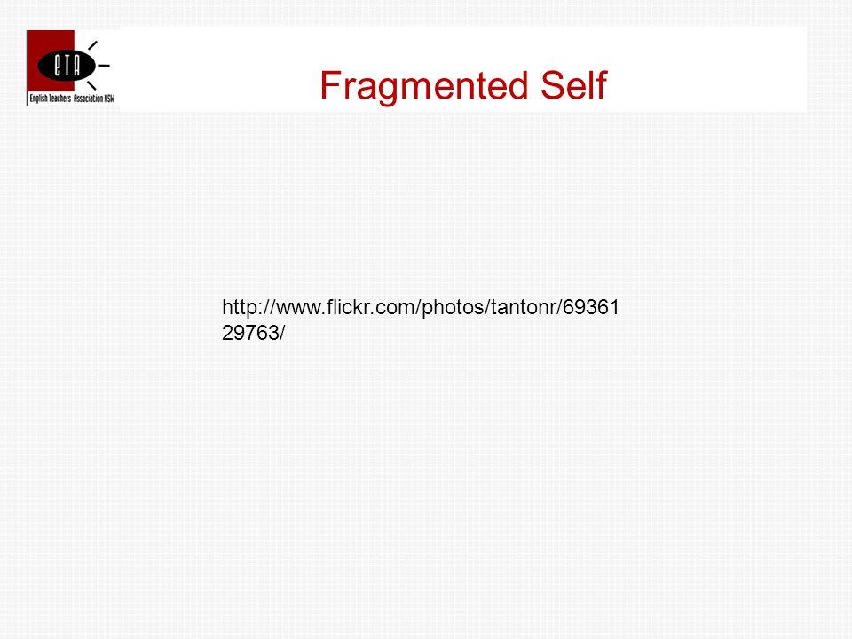 Fragmented Self http://www.flickr.com/photos/tantonr/69361 29763/