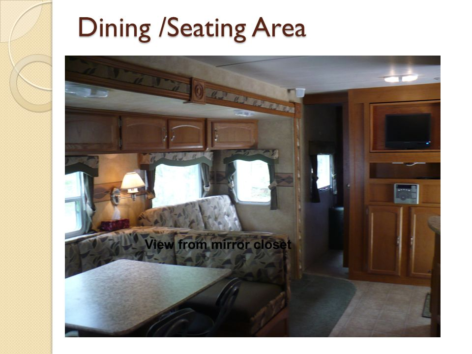 Dining /Seating Area