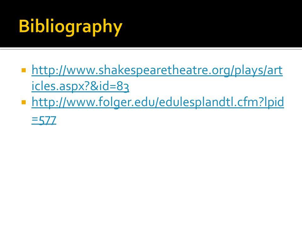  http://www.shakespearetheatre.org/plays/art icles.aspx &id=83 http://www.shakespearetheatre.org/plays/art icles.aspx &id=83  http://www.folger.edu/edulesplandtl.cfm lpid =577 http://www.folger.edu/edulesplandtl.cfm lpid =577