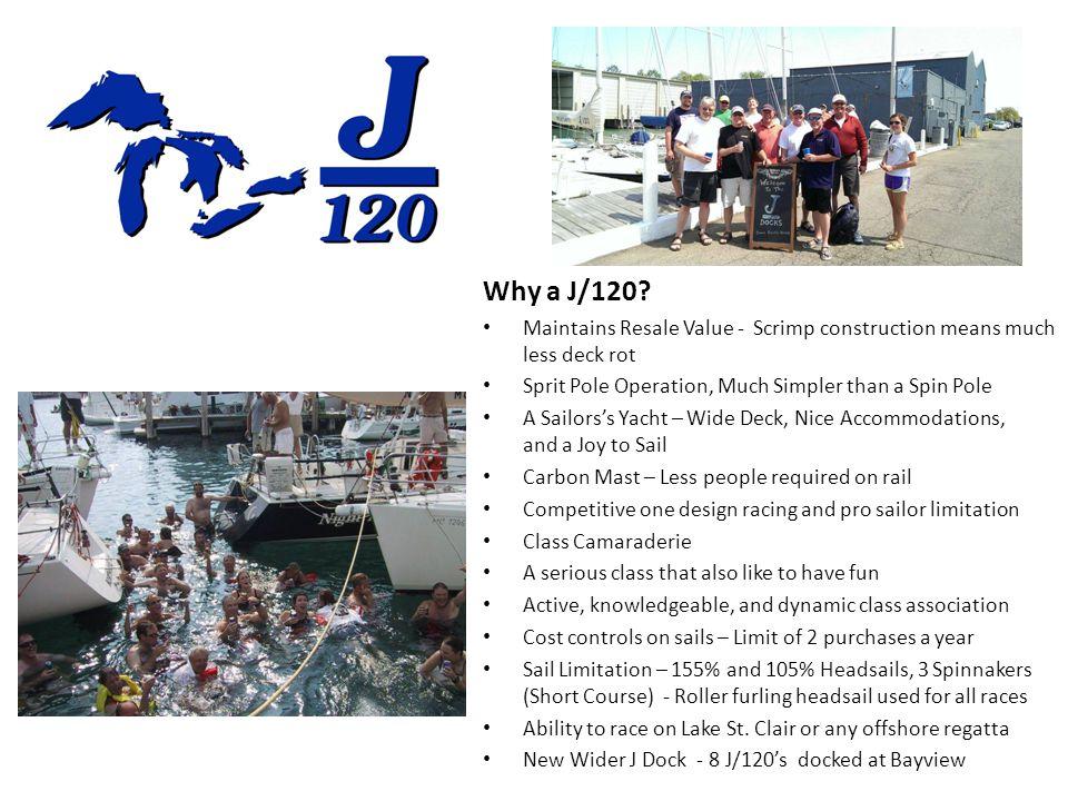 Why a J/120.