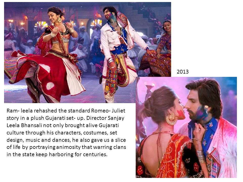Ram- leela rehashed the standard Romeo- Juliet story in a plush Gujarati set- up.