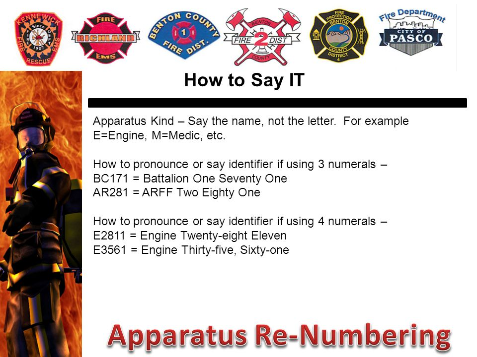 How to Say IT Apparatus Kind – Say the name, not the letter.