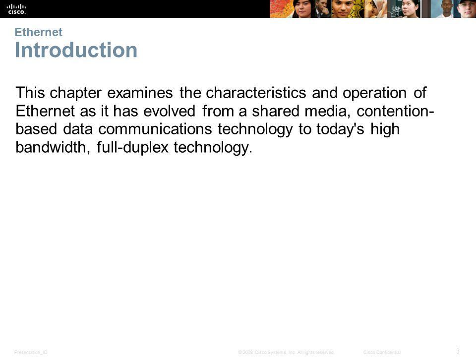 Presentation_ID 34 © 2008 Cisco Systems, Inc.