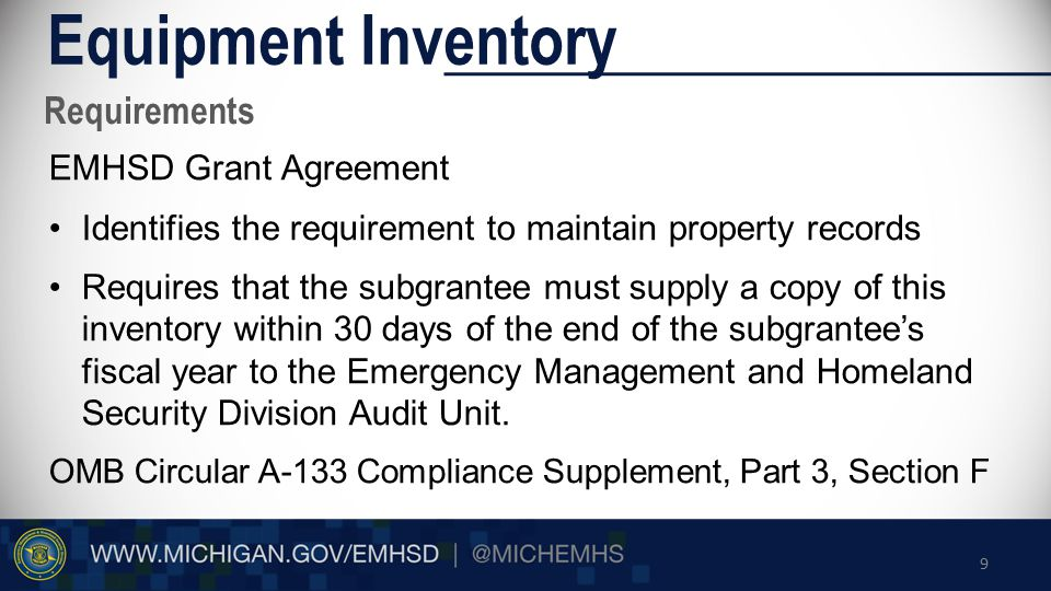 Solutions Equipment Inventory 1.