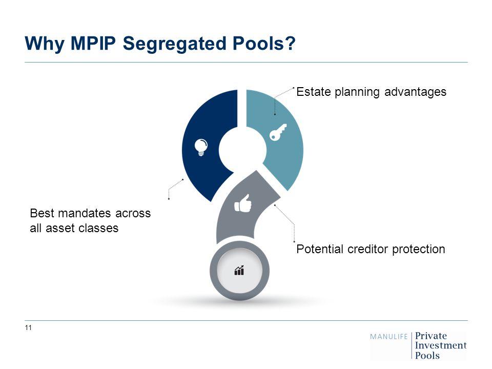 Why MPIP Segregated Pools.