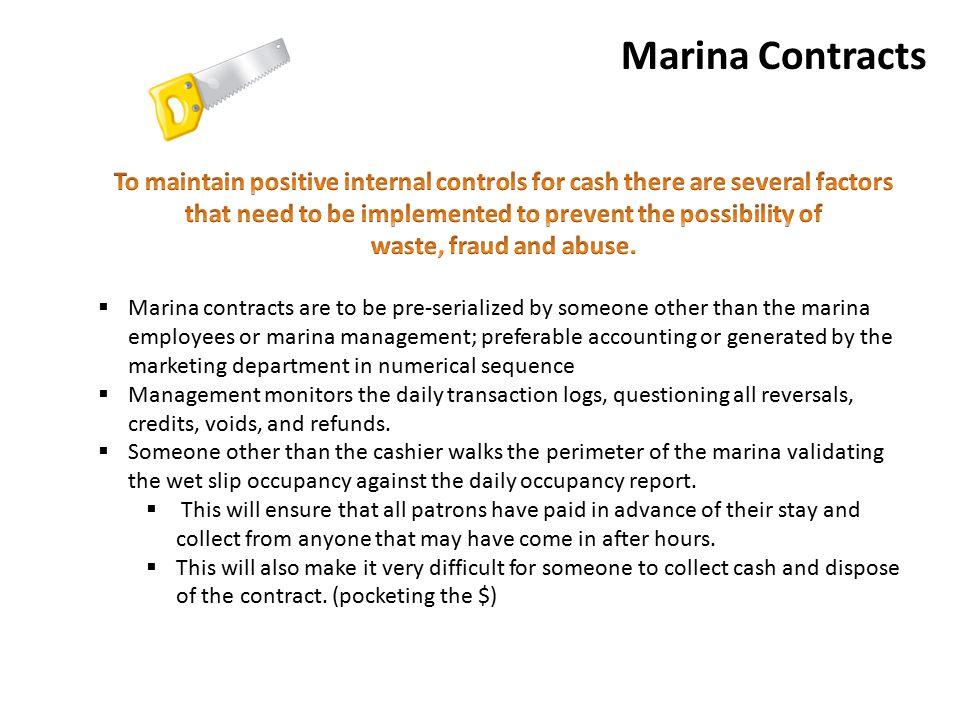 Marina Contracts