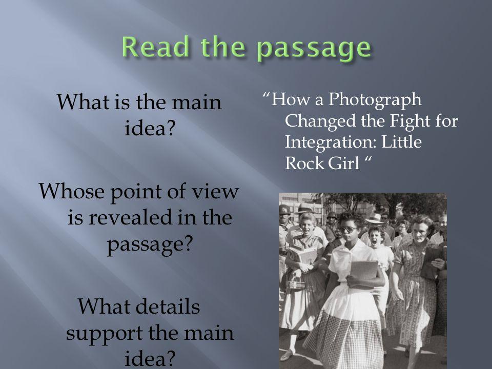 A. The photographer B. Hazel C. Elizabeth D. The mob