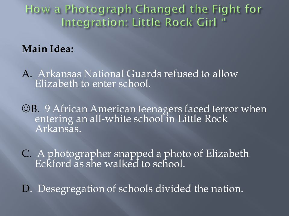 Describe the impact of September 4, 1957 on the people of Little Rock, Arkansas and the United States.