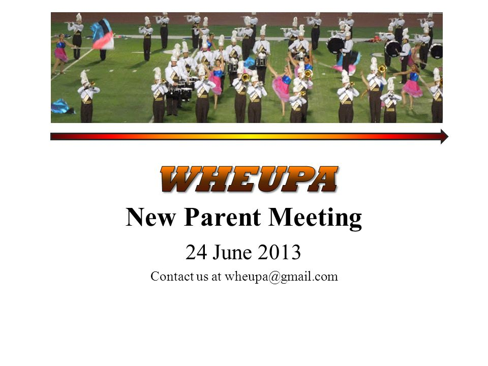24 June 2013 Contact us at wheupa@gmail.com