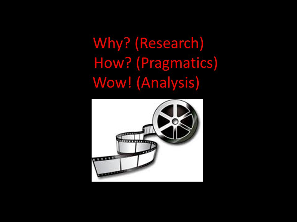 BOOK TRAILERS: Why? (Research) How? (Pragmatics) Wow! (Analysis)) Wow!