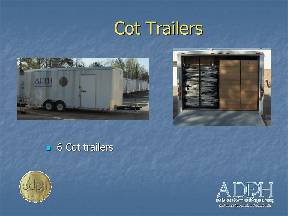 Cot Trailers 6 Cot trailers 6 Cot trailers