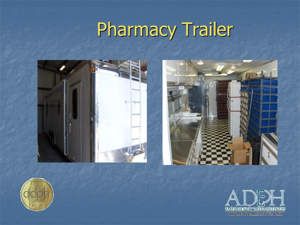 Pharmacy Trailer