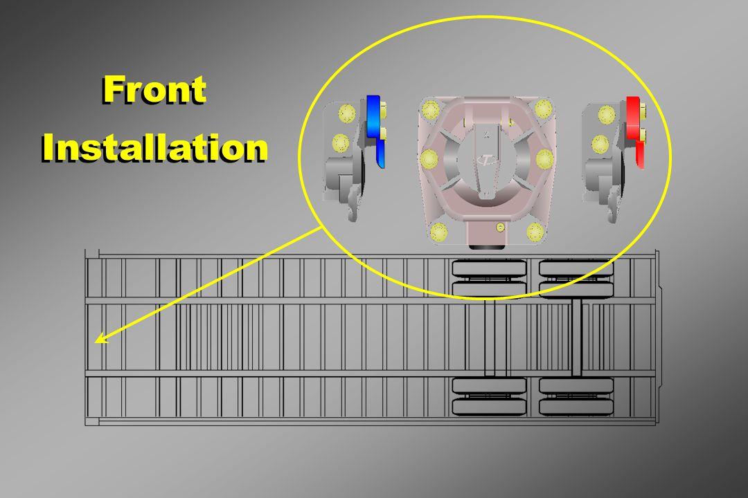 Front Installation Front Installation