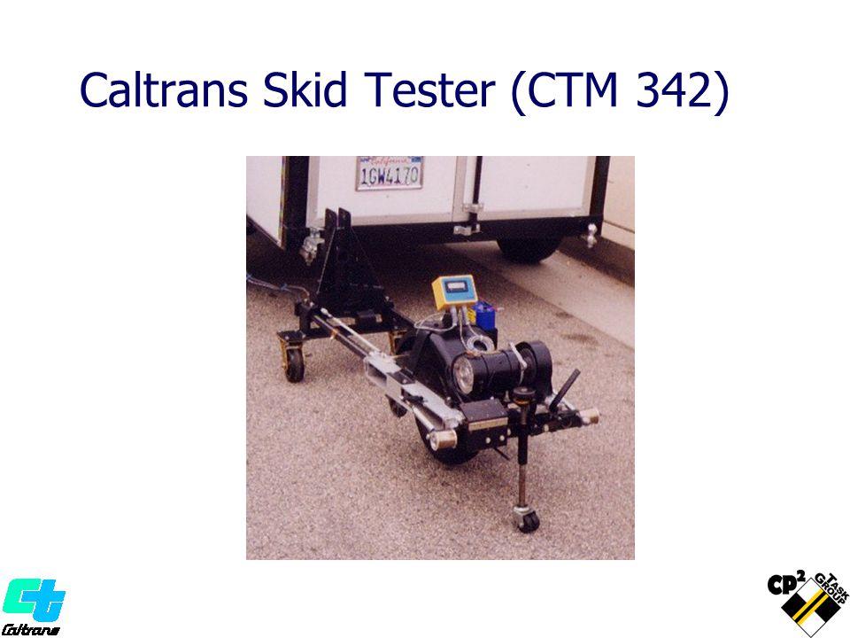 Caltrans Skid Tester (CTM 342)