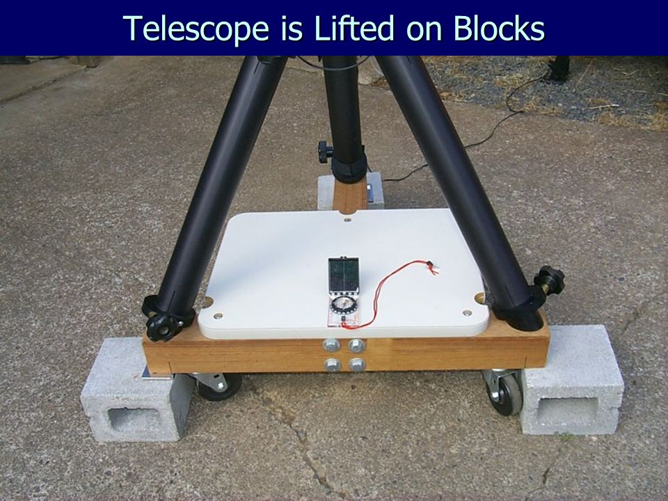 Telescope is Lifted on Blocks