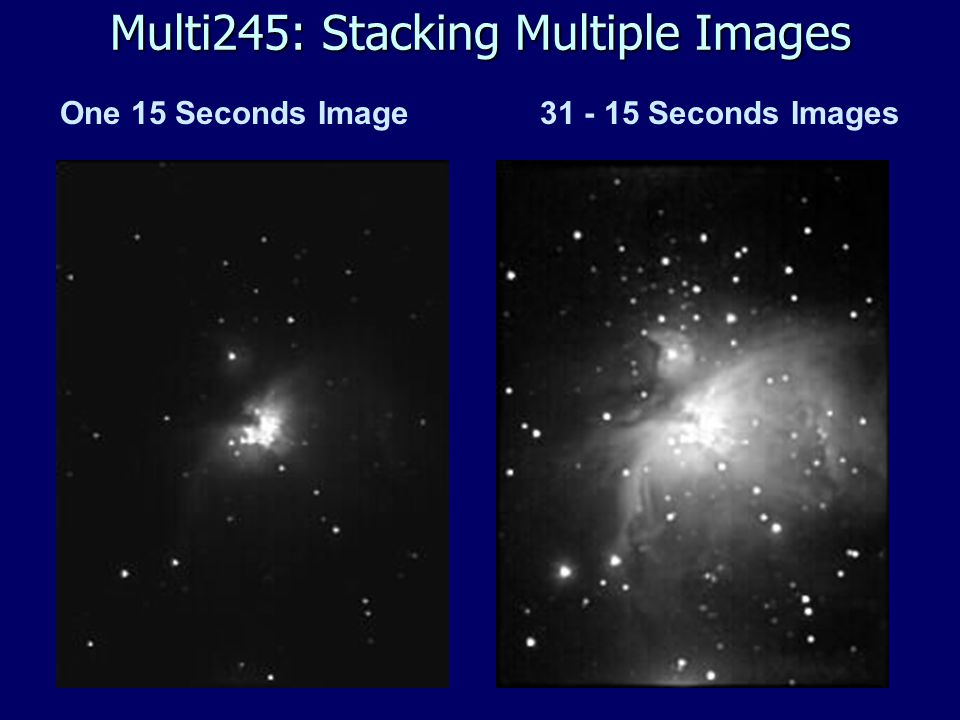 One 15 Seconds Image31 - 15 Seconds Images Multi245: Stacking Multiple Images