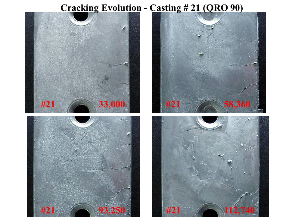 Cracking Evolution - Casting # 21 (QRO 90) #21 33,000#21 58,360 #21 93,250#21 112,740