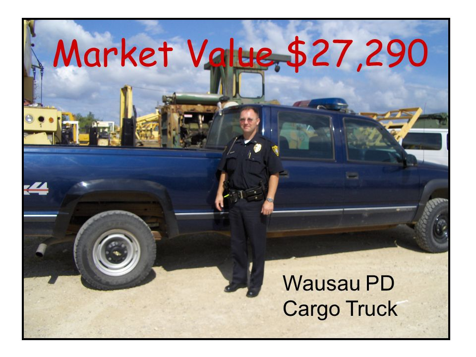 Wausau PD Cargo Truck Market Value $27,290
