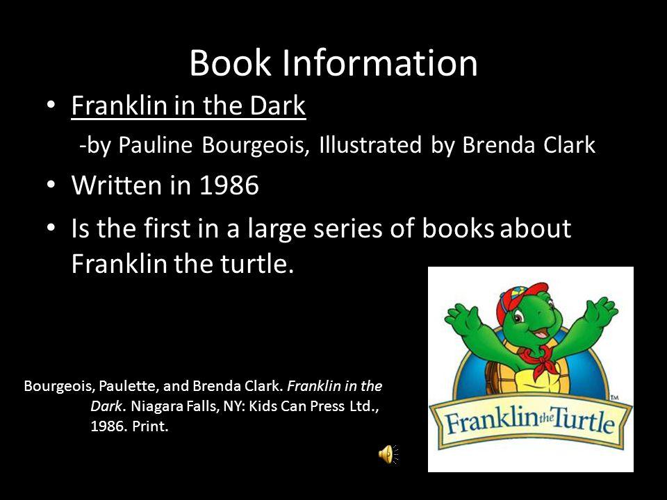 Book Talk: Franklin in the Dark Narrated by Kellie Wallen
