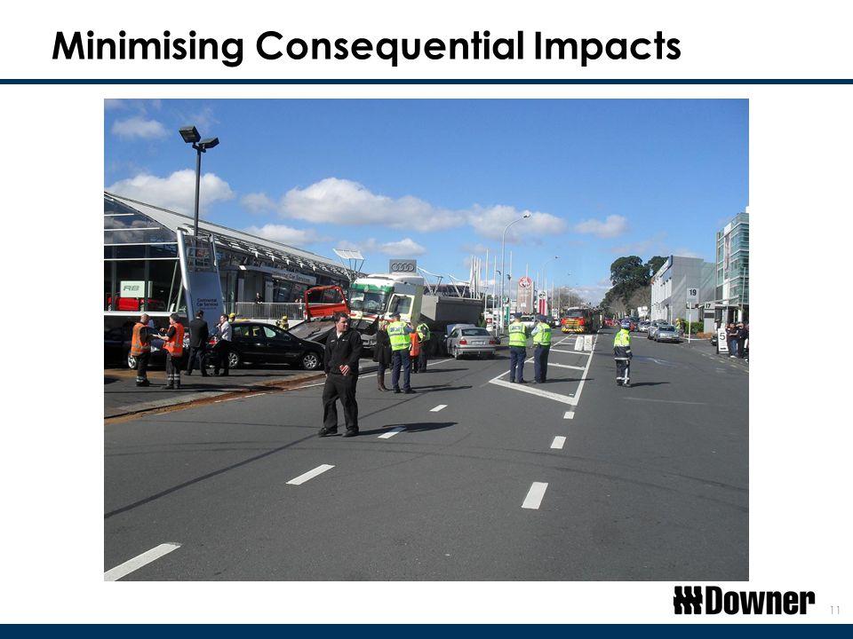 Minimising Consequential Impacts 11