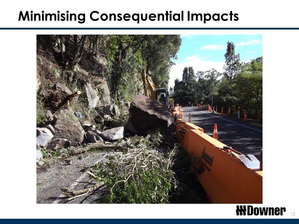 Minimising Consequential Impacts 12