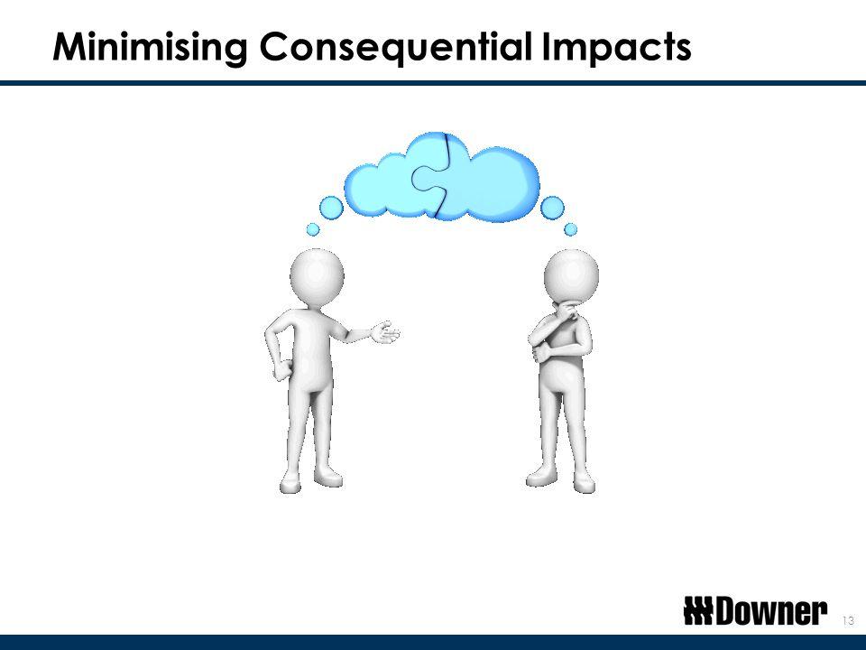 Minimising Consequential Impacts 13