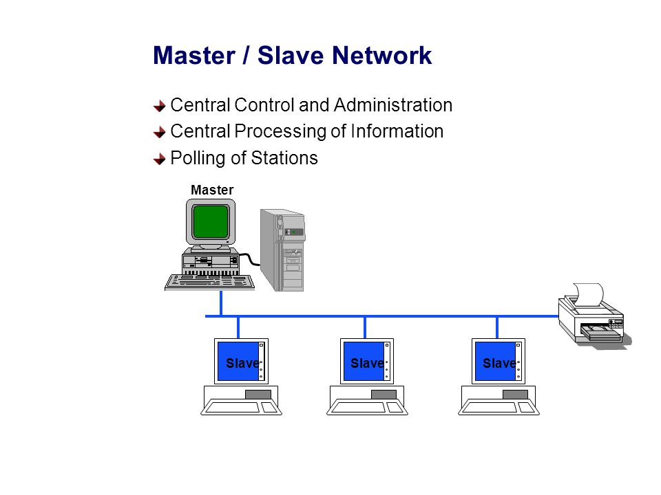 Peer To Peer Network Distributed Administration Independent Processing of Information Shared Transmission Medium
