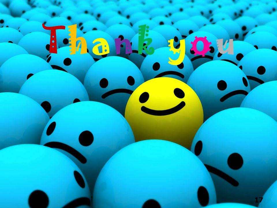 Thank y o u 17