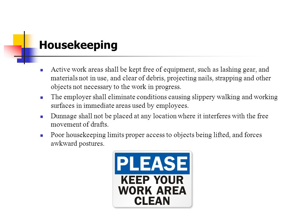 Safety Guidelines for NEP Employees Shop Safety Due to the large number of employees, visitors, and contractors traveling through the shop area, safet