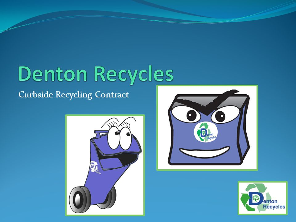 Curbside Recycling Contract