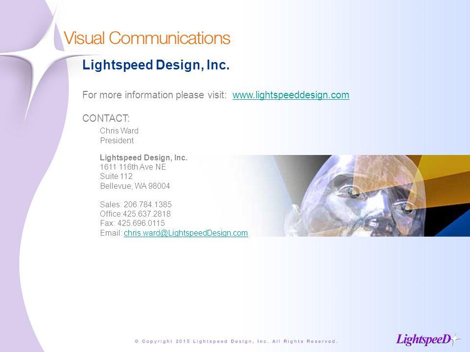 Lightspeed Design, Inc.