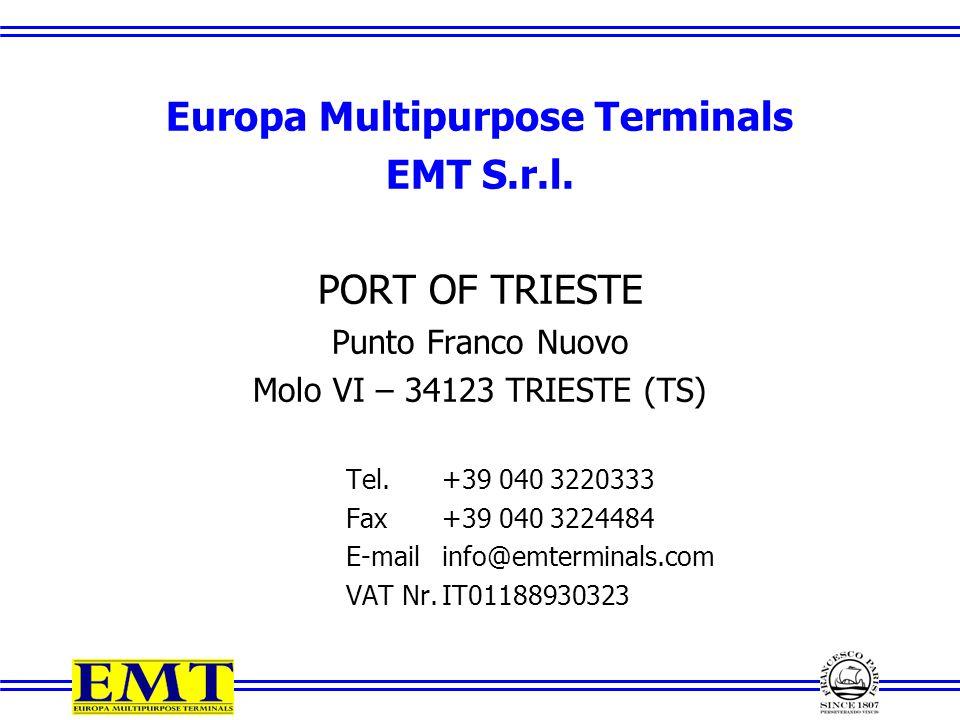 Europa Multipurpose Terminals EMT S.r.l.