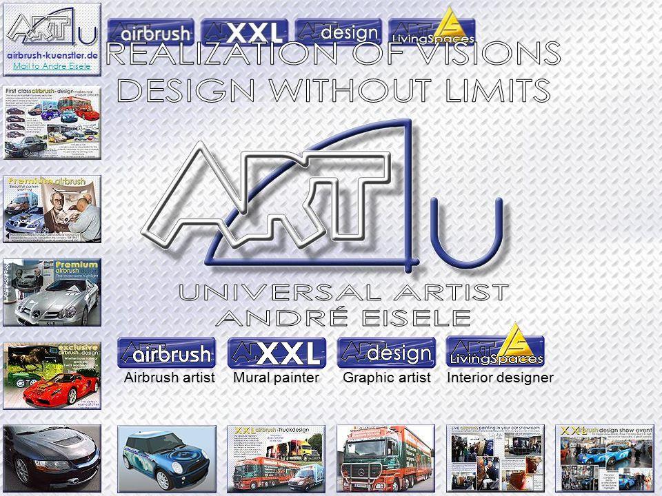 Airbrush artistMural painterGraphic artistInterior designer airbrush-kuenstler.de Mail to Andre Eisele