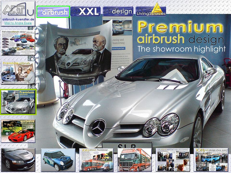 The showroom highlight airbrush-kuenstler.de Mail to Andre Eisele