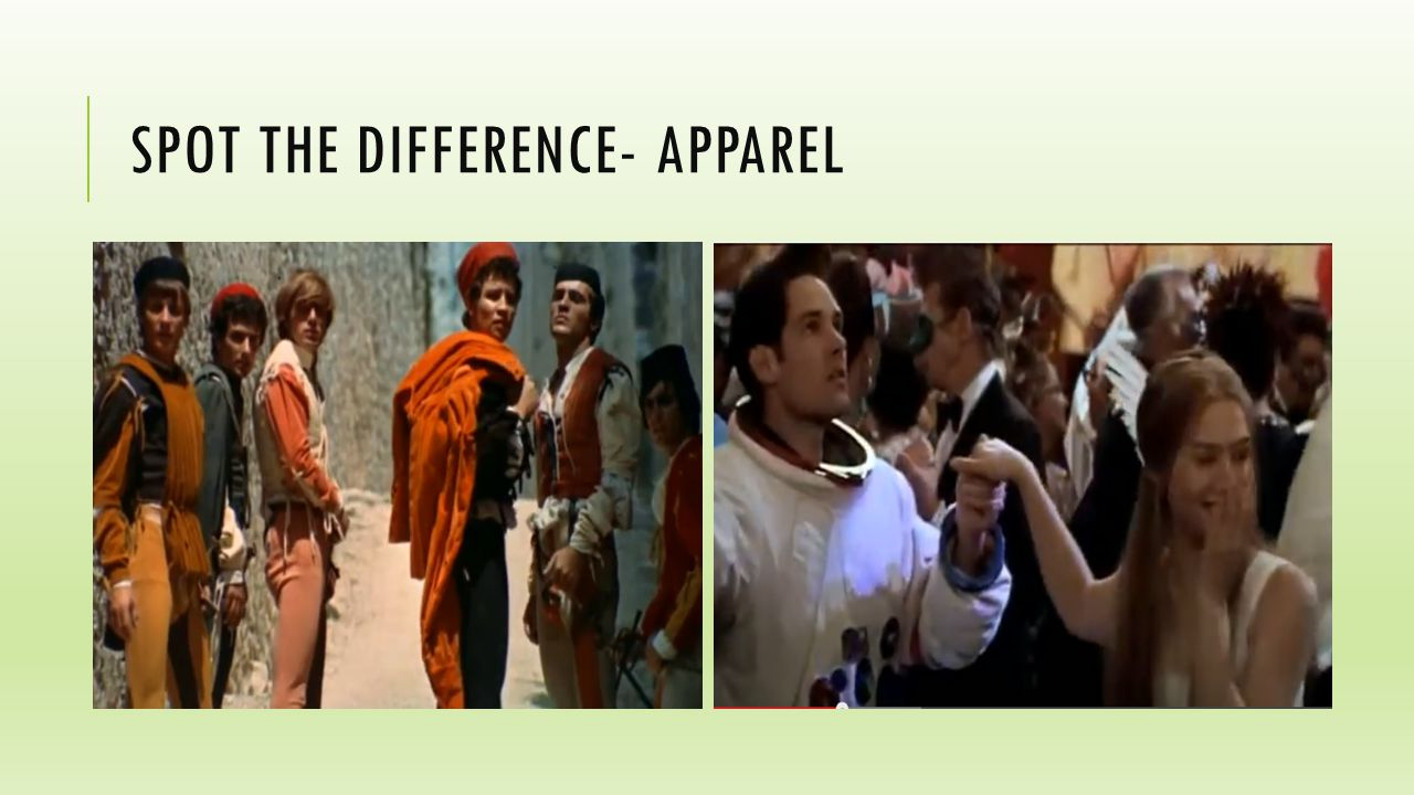 SPOT THE DIFFERENCE- APPAREL