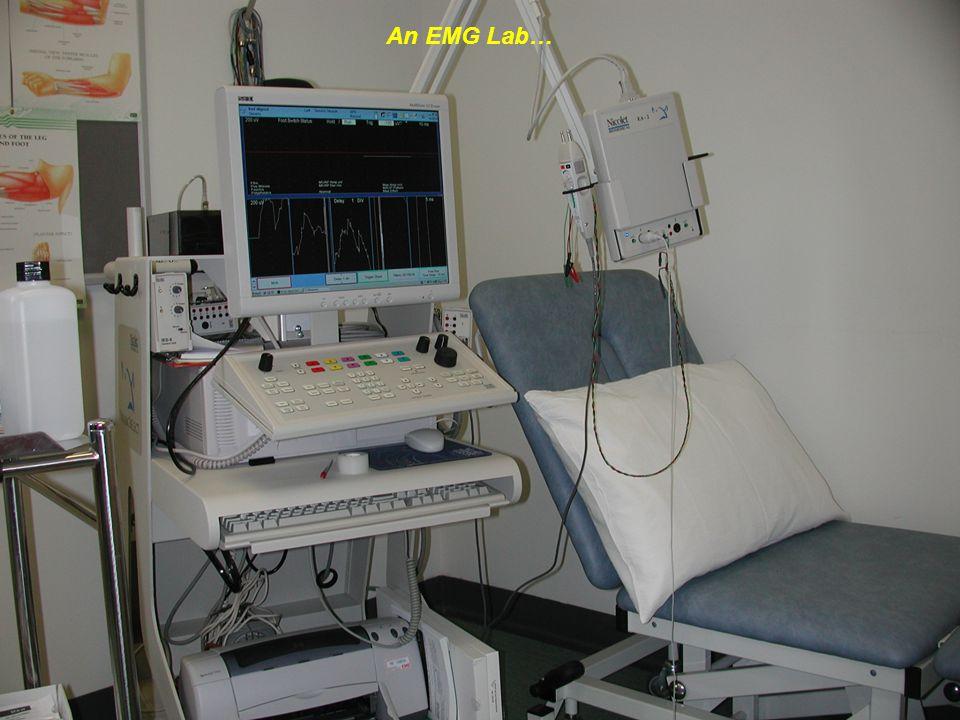 An EMG Lab…